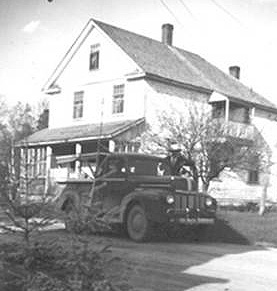 One of the Village homes, 1947