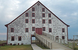 Le Boutillier storehouse. (Photo - Dwane Wilkin)