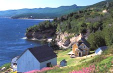 Anse-Blanchette. (Photo - Parks Canada)