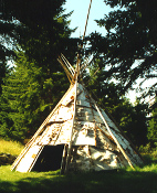 Gespeg teepee. (Photo - Gespep Interpretation Site)