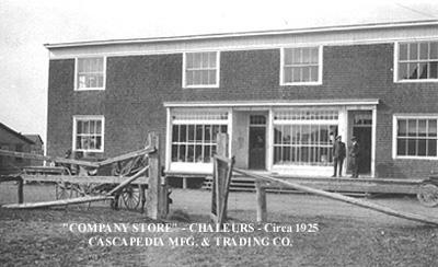 Magasin de la compagnie / Company store (1925.)