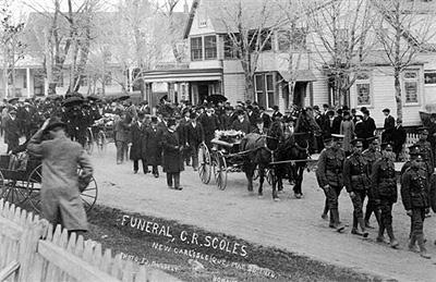 Funérailles de C. R. Scoles / Funeral of C. R. Scoles (1916)