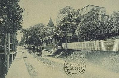 L'hôtel Baker, v.1905 / Baker Hotel, c.1905.