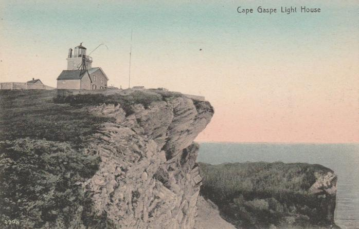 Phare du Cap-Gaspé / Cape Gaspé Lighthouse, 1910
