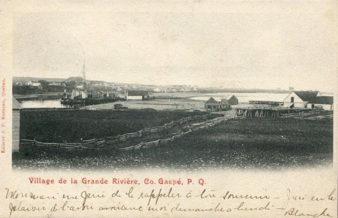 Village de la Grande Rivière, 1905.
