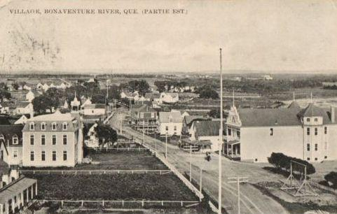 Village of Bonaventure, c.1910.