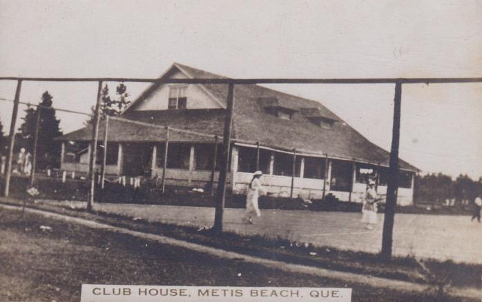 Club House, Metis Beach, vers 1920 / c.1920
