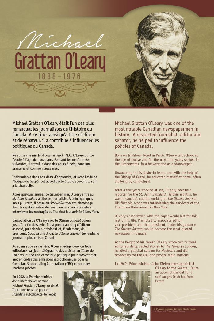 Michael Grattan O'Leary (1888-1976)