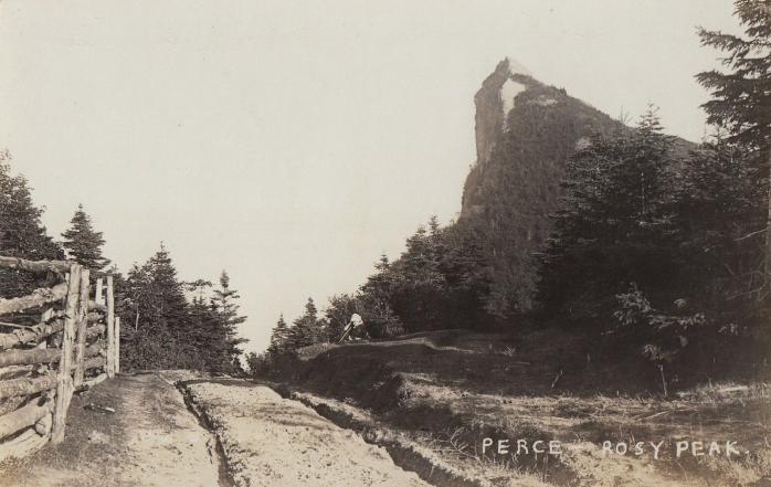 Rosy Peak, Percé