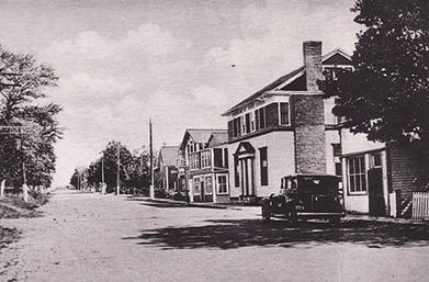 Rue Main Est, années 1930 / Main Street East, 1930s