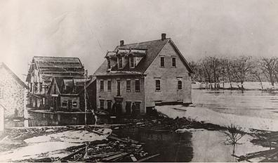 Mill and River, Matapedia, 1897.